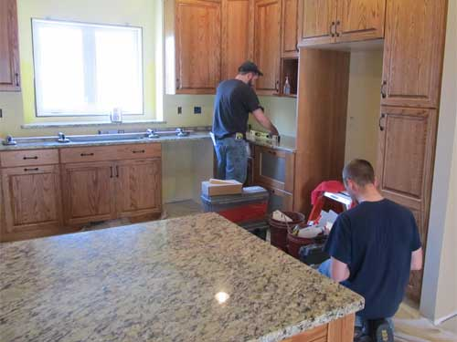 Custom Granite Counters